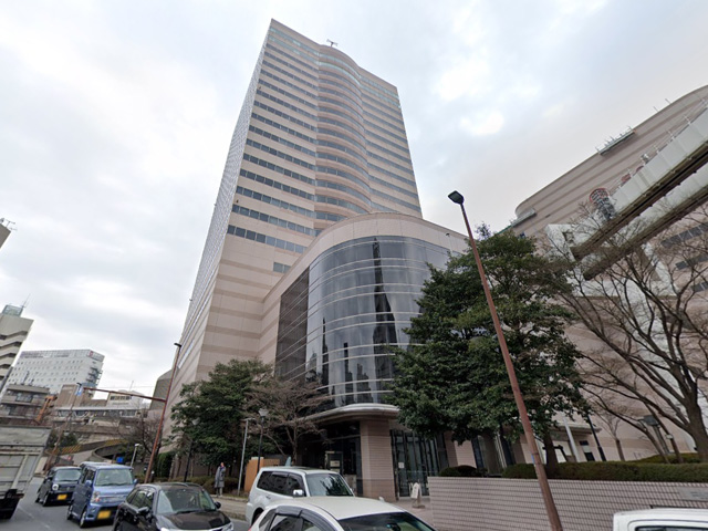 ECC外語学院 千葉センシティ校の外観