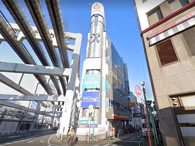 駅前留学NOVA 千葉本校の外観