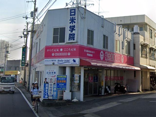 日米学院の外観